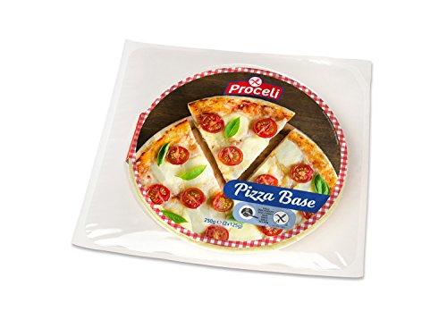 PROCELI base para pizza SIN GLUTEN envase 2x125 gr