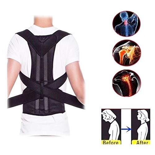 LLFFDC Haltungstrainer,Geradehalter zur Haltungskorrektur Rückentrainer Schulter Rückenstütze,Schultergurt gegen Nacken -und Schulterschmerzen für gerader Rücken für Damen Herren,XXXL