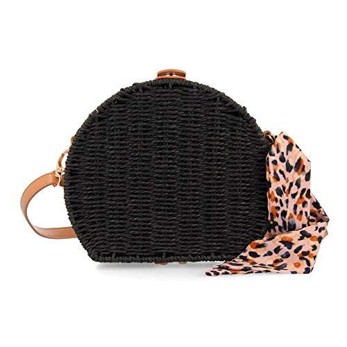 GIOSEPPO BERLOZ, Bolso bandolera para Mujer, Negro (Negro), 8x18x20 cm (W x H x L)