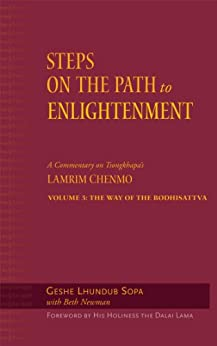 Steps on the Path to Enlightenment: A Commentary on Tsongkhapa's Lamrim Chenmo, Volume 3: The Way of the Bodhisattva by [Lhundub Sopa, David Patt, Beth Newman, Dalai Lama]