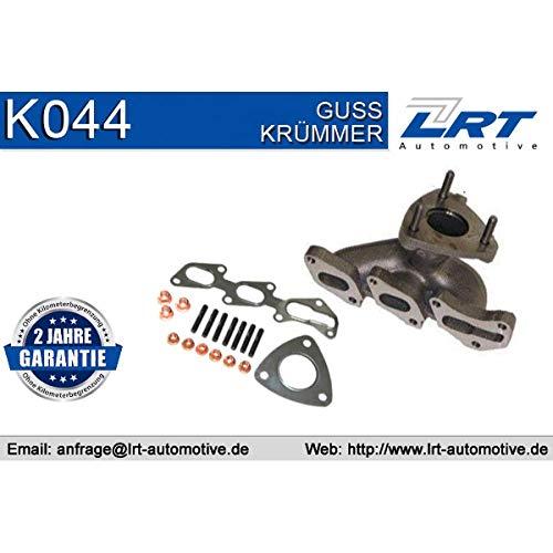 LRT K044 Krümmer, Abgasanlage