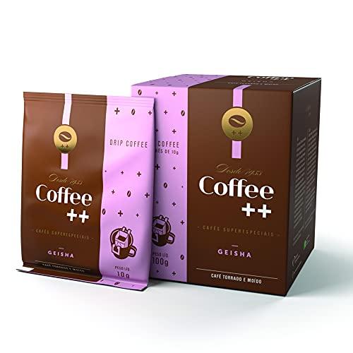 Café Especial Geisha Drip 10 Sachês - Coffee Mais