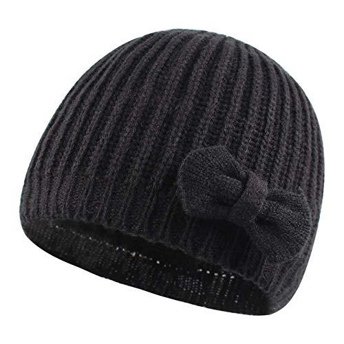 Spasuely Strickmütze für Babys, Mütze mit Ohrenschützern, Winter, warm, für...