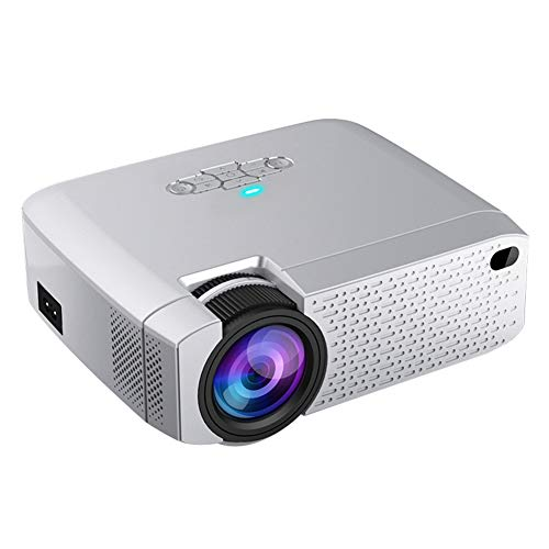 LED Mini Projector D40W,HD 1080P Video Beamer for Home Cinema. Support HD, Wireless Sync Display for iPhone/Android Phone