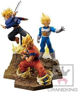 Banpresto Dragonball Z Absolute Perfection Figure GOKOU & Vegeta & Trunks Set of 3