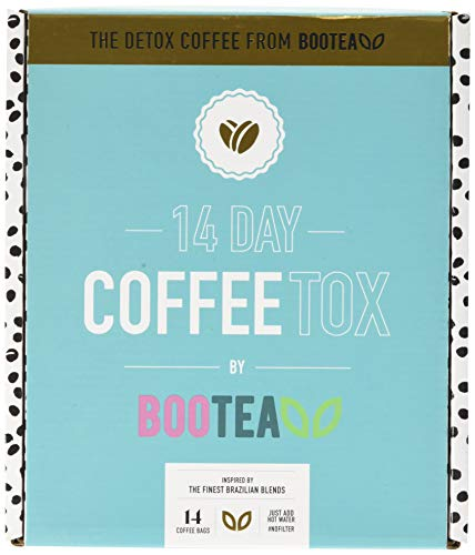 bootea Detox Instant Coffee for Weight Management 14 Day Program, 1 kg