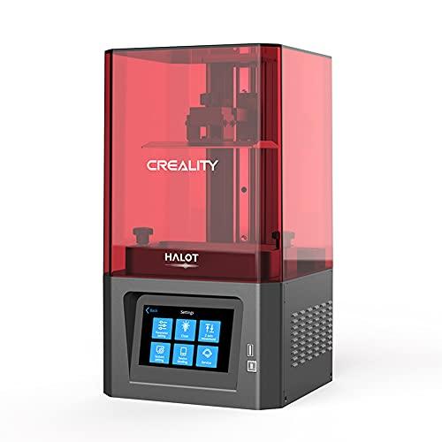 Imprimante 3D en Résine Photopolymérisable Creality HALOT-ONE SLA UV Avec Logiciel de Tranchage Développé Indépendamment et Source de Lumière Intégrée