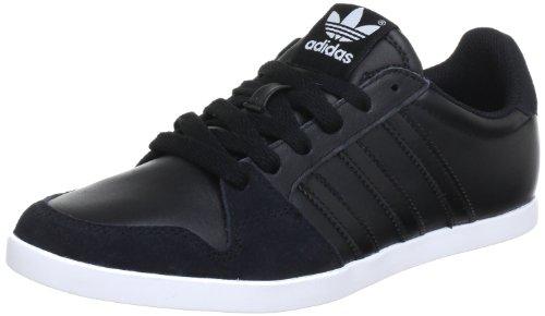 adidas Adilago Herren Sneakers, Schwarz (BLACK 1 / BLACK 1 / RUNNING WHITE FTW), 44