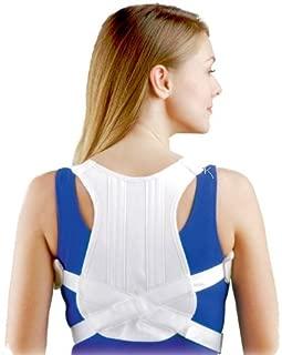 FLA Orthopedics 16-420LGSTD Posture Control Shoulder Brace White, Large