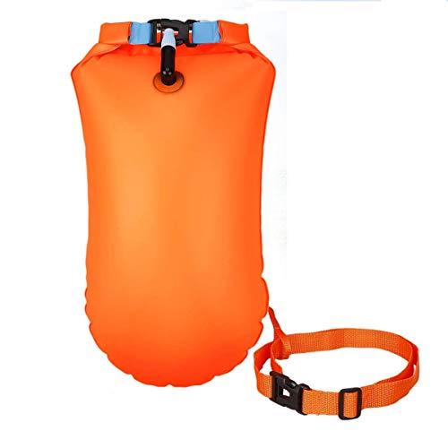 FUNNY HOUSE Nuoto Boa 20L Boa Gonfiabile per Nuoto Swim Buoy Sicurezza Durante Il Nuoto, in Acque Libere e per Il Triathlon con Cintura Regolabile