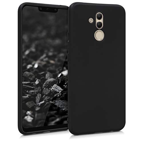 kwmobile Hülle kompatibel mit Huawei Mate 20 Lite - Hülle Handyhülle - Handy Hülle in Schwarz matt