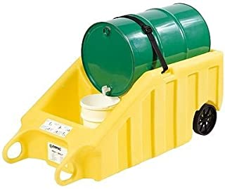 Enpac 5300-YE Secondary Containment Dolly for one 55-Gallon Drum