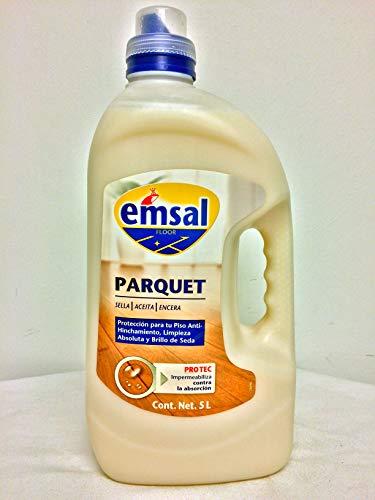 Emsal Parquet 5 Liter (Parkett Reiniger - spanisches Label, inkl. deutscher Beschreibung)
