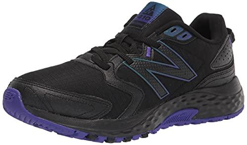New Balance WT410V7, Zapatillas para Carreras de montaña Mujer, Black, 38 EU