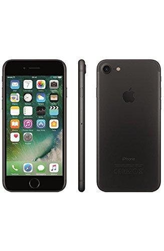 "iPhone 7, Apple, Tela de 4,7"", 4G, 128 GB, Câmera de 12 MP, Preto Matte"