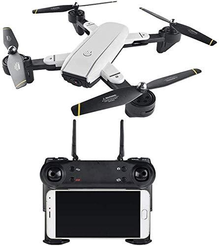FPV RC Drone con cámara HD 1080P con Video en Vivo WiFi y Quadcopter Gyro de 6 Ejes sin Cabeza de 2.4GHz con un botón 360deg;Flip y 10 Minutos de Tiempo de Vuelo, Regalo Divertido para niño