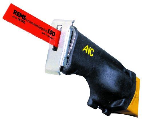 REMS Cat ANC VE Antriebsmaschine (Handsäge) - leistungsstarke, robuste Säge für den universellen Einsatz, nur 3,0 kg, Elektrowerkzeug mit Vario-Elektronik (VE), 230 V, 50–60 Hz, 1050 W