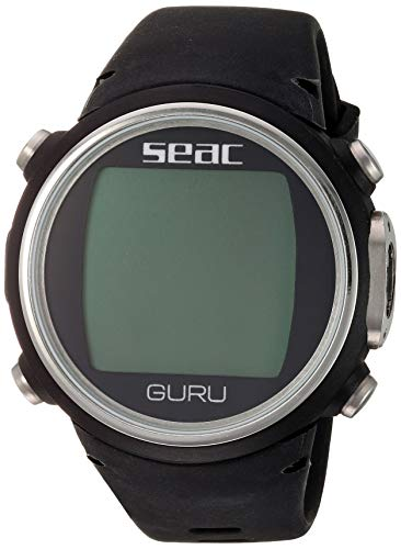 SEAC Guru Dive Computer Wrist Watch with Digital Compass, White