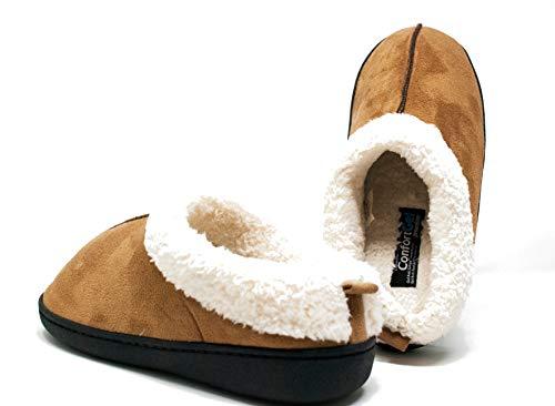 Zapatillas para Andar por casa Confort Gel Premium, con Gel y Relax. Unisex, ayudan a Mejorar tu Salud. (XL, Azul) (M, Beige)