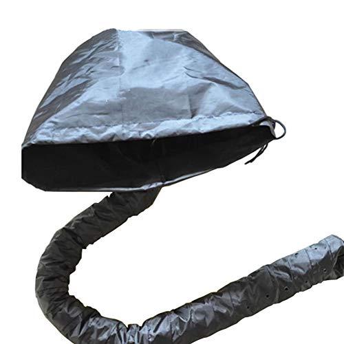 Bonnet De Sèche-Cheveux Capuchon Pour Cheveux Secs Portable Capuchon Étanche Capot Fixation Pour Séchoir À Cheveux Aucune Électricité Noir X3