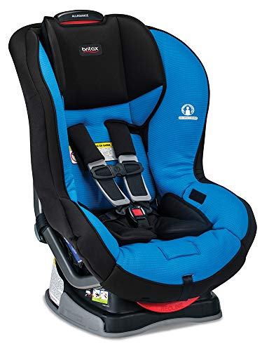 Britax Allegiance 3 Stage Convertible Car Seat 1 Layer Impact Protection - Rear & Forward Facing - 5 to 65 Pounds, Azul