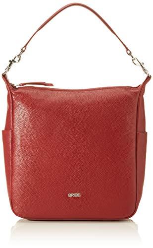 BREE Damen NOLA 10 Rucksack, Rot (Dark Red), 9x32x28 cm