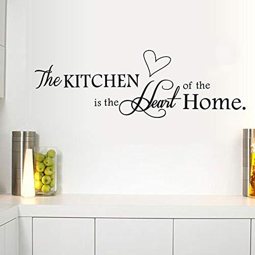 Vinilo adhesivo de pared con cita 'La cocina' de Vmile