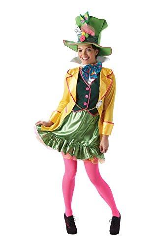 Rubie 's Offizielle Alice in Wonderland, HAD Hatter Erwachsene Kostüm–Kleine Damen