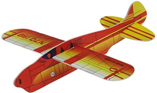 piepschuim vliegtuig, ca. 17 cm.