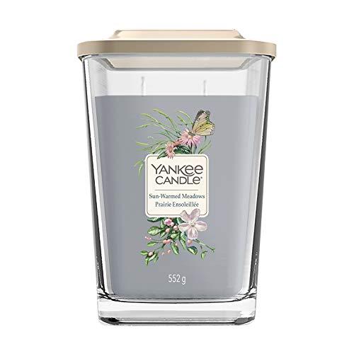 Yankee Candle geurkaars Sugared Wildflowers, vierkant, 3 lonten