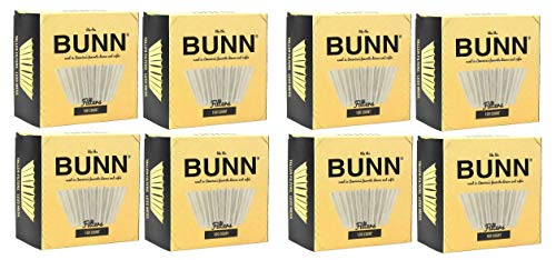 BUNN BCF100-B 100-Count Basket Filter (Pack of 4) (Тwo Рack)