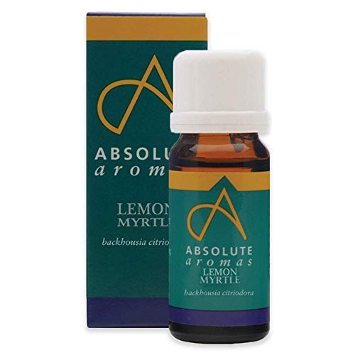 Absolute Aromas Zitronenmyrte Ätherisches Öl 10ml - für Aromatherapie und Diffusoren