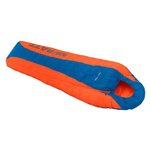 Trango Muratt Sac de Couchage Mixte Adulte, Bleu/Orange/223/Azul Imperial/Naranja, Fermeture á Droite