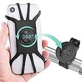Diyife Porta Cellulare Bici, [Universale Versione] Supporto Telefono per MTB, Porta Cellulare Moto Staccabile con Rotazione a 360° per iPhone 12/11/ X/XS/XR 7 8 Plus/Samsung/Huawei