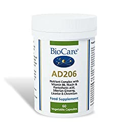 HIGH POTENCY - Providing optimal doses of vitamins B3, B5, B6 and C to contribute to the reduction of tiredness and fatigue, alongside Siberian ginseng, licorice root, Gotu Kola and chromium. CONTAINS LICORICE ROOT TO HELP MAINTAIN MENTAL CALM AND EN...