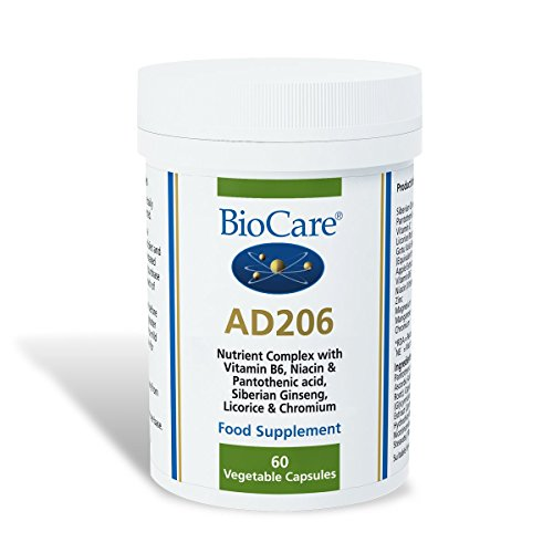 Biocare - AD 206 Nutrient Complex with Vitamin B6-60 Caps