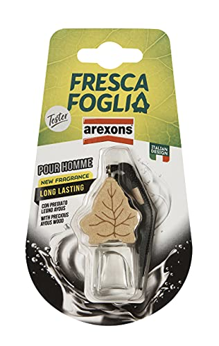 AREXONS Profumatore Fresca Foglia in Boccettino, Pour Homme