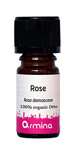 Rosa Damascena Otto aceite esencial Bio 100 % puro-1ml