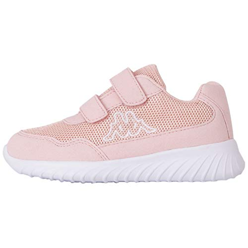 Kappa Jungen Cracker Ii Sneaker, 7110 Dk Rosü White, 35 EU