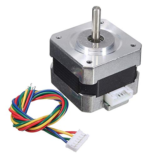 B Baosity NEMA 17 Stepper Motor 28N.cm 1.8 Degree 4 Wires 12V 0.4A for CNC Machines of Reprap Prusa I3 3D Printer