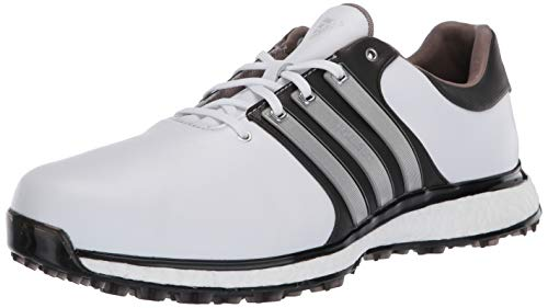 adidas Men's TOUR360 XT Spikeless Golf Shoe, FTWR White/Matte Silver/core Black, 11 Medium US