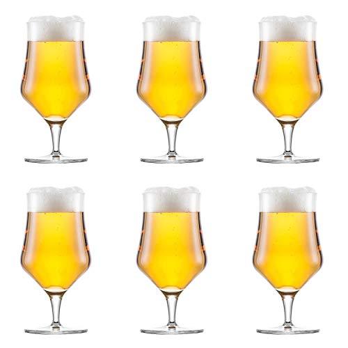 Schott Zwiesel Beer Basic Bierglas Beer Basic Craft Universal 450 ml, klar (6 Stück)
