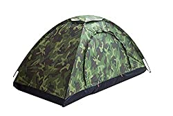 affodable Sutekus Single Tent Camouflage Pattern Camping Tent Single Camping Tent Hiking[Outdoor Equipment]