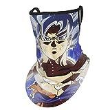Dragon Ball Super Son Goku Saiyan Ultra Instict Ultra-Instin Bandana Cuello Polaina Escudo Pañuelo...