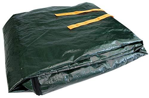 Windhager Laderaumschutz und Transportsack, Kofferraumschutz, Innenraumschutz für Auto, Kofferraummatte für Hunde, 1,7 x 1,2 x 0,7m, 100g/m², 07195, grün