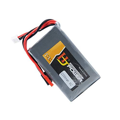 6.6V 8C 2200mAh Life Battery for RC Like 18SZ 14SG 10J T8J T6J 7PX 4PX 4PV 4PLS 4PK 3PV Receiver with Futaba add JST Plug