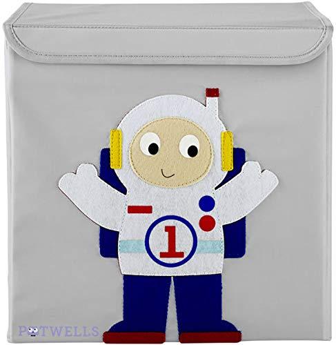 Potwells Designs Boîte de rangement Astronaute