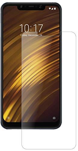 dipos I 2X Panzerfolie klar kompatibel mit Xiaomi Pocophone F1 Schutzfolie 9H Bildschirmschutz-Folie