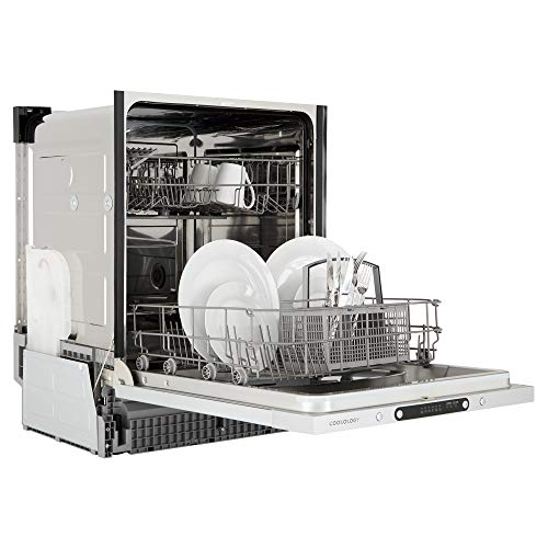Cookology CBID601 Fully Integrated, Built-in Dishwasher | 60cm, 12 Place Setting