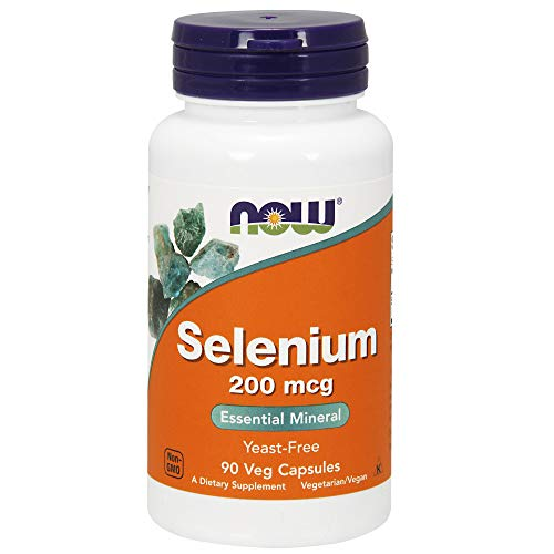 Now Foods, Selenium, 200mcg, 90 Veg. Kapseln